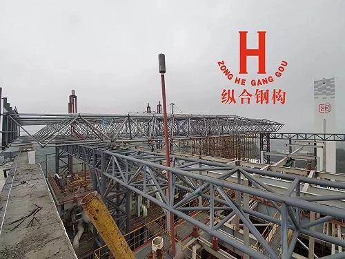滄州縱合鋼構管桁架 等離子切割