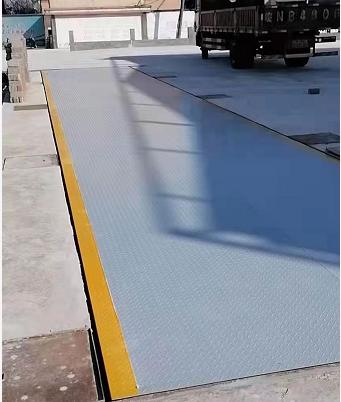 賽拓地磅3米寬8米長60噸地磅現貨安裝