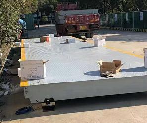 賽拓地磅3米寬9米長60噸地磅現貨安裝