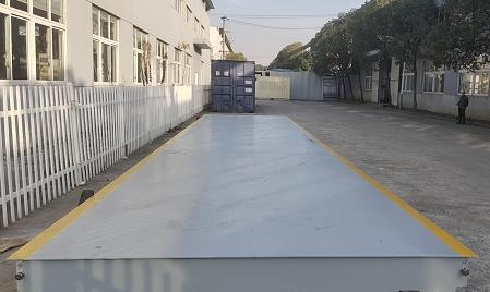 3米寬12米長50噸賽拓地磅地磅現貨安裝