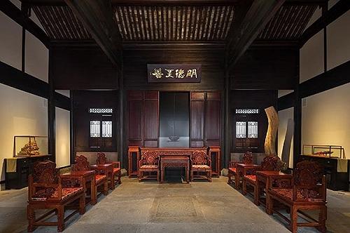 中式古典红木装修