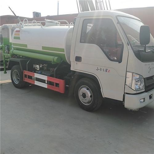 福田時代小卡之星小型3噸灑水車直銷廠家