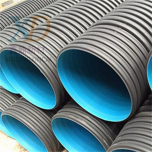 HDPE雙壁波紋管鄭州排水選用