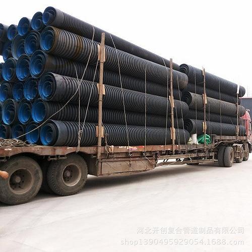 HDPE雙壁波紋管鄭州高密度聚乙烯波紋管