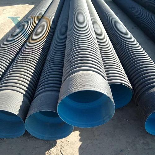HDPE雙壁波紋管平頂山高密度聚乙烯管