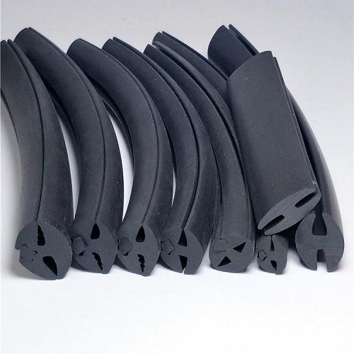 卡鈑金三口密封條 防水防塵橡膠密封條