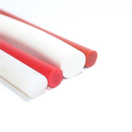 耐高溫硅膠棒圓條實心密封條