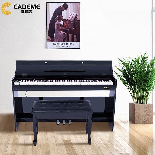 泉州佳德美88键重锤智能电钢琴C-806