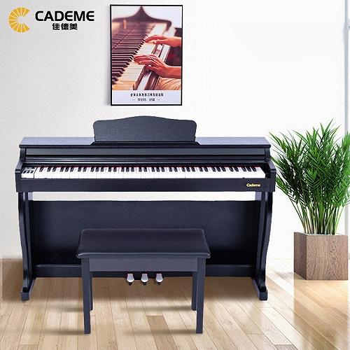 泉州佳德美智能电钢琴C-807T木纹款