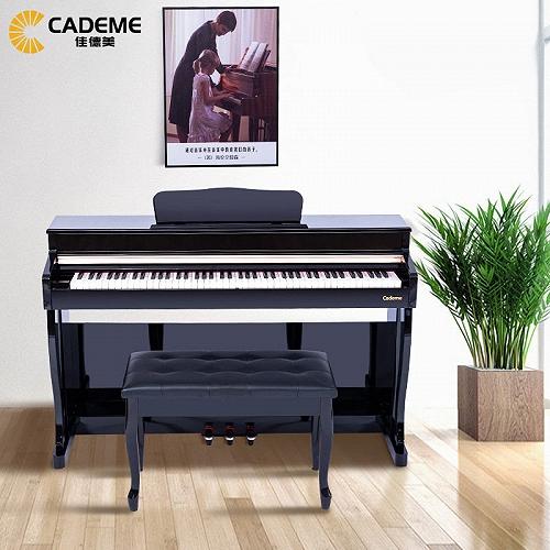 泉州佳德美88键重锤智能电钢琴C-808