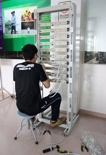 畢節承接綜合布線工程、安裝門禁考勤系統