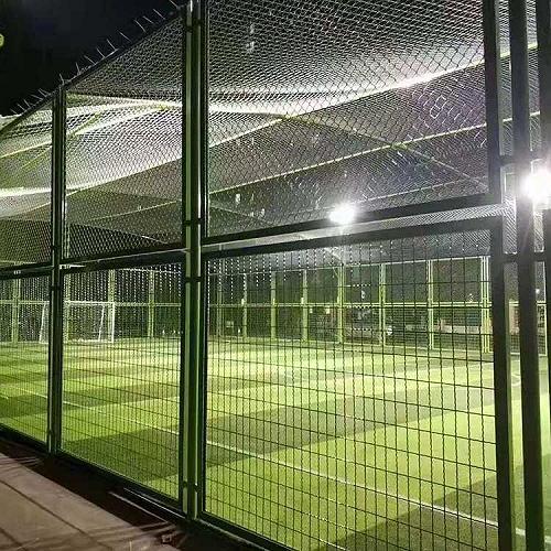西安市体育场围网 笼式足球场围网 勾花网