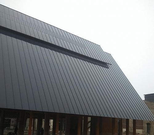 直立锁边高立边咬型铝镁锰金属屋面