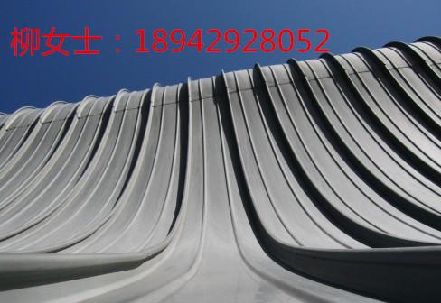 陕西钢结飞机维修库屋顶铝镁锰金属屋面