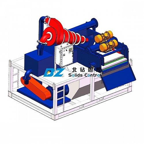 北钻固控设备|盾构打桩泥浆处理系统