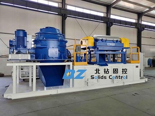 北钻固控钻设备钻井废弃物处理系统