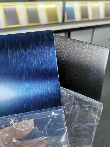 304不銹鋼寶石藍板