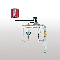 供应管道模拟末端试水装置